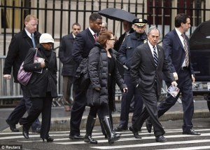 Bloomberg and Armed Bodyguards