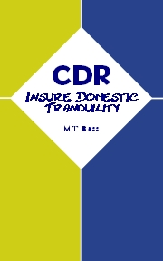 CDR-07 - To Insure Domestic Tranquility 180w