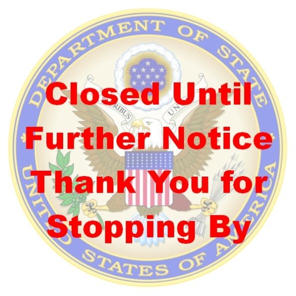CPD130805 - State Department Closed