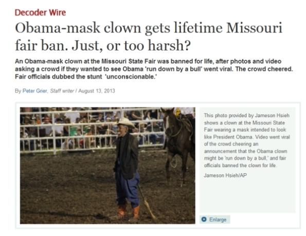 PIC130814 - Obama Clown