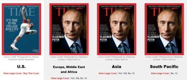 CDR130916 - Time Magazine Cover - Putin vs NCAA