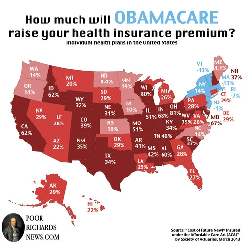 131017 - ObamaCare Rate Increases