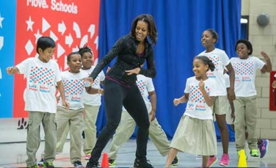 YY131007 - Michelle Obama Lets Move