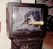MFN131202 - Trashed TV