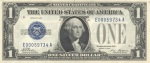 US One Dollar -- Silver Certificate