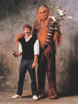 CPD150209a - George Lucas & Wookie