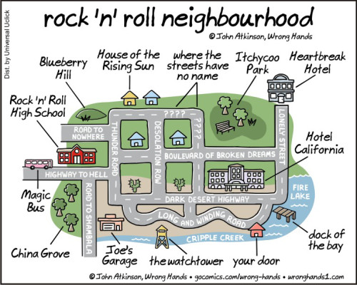 rock n roll neighbourhood