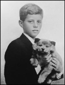 JFK with Dog
