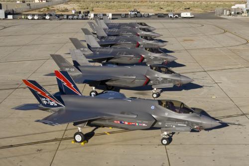 f-35b flight line